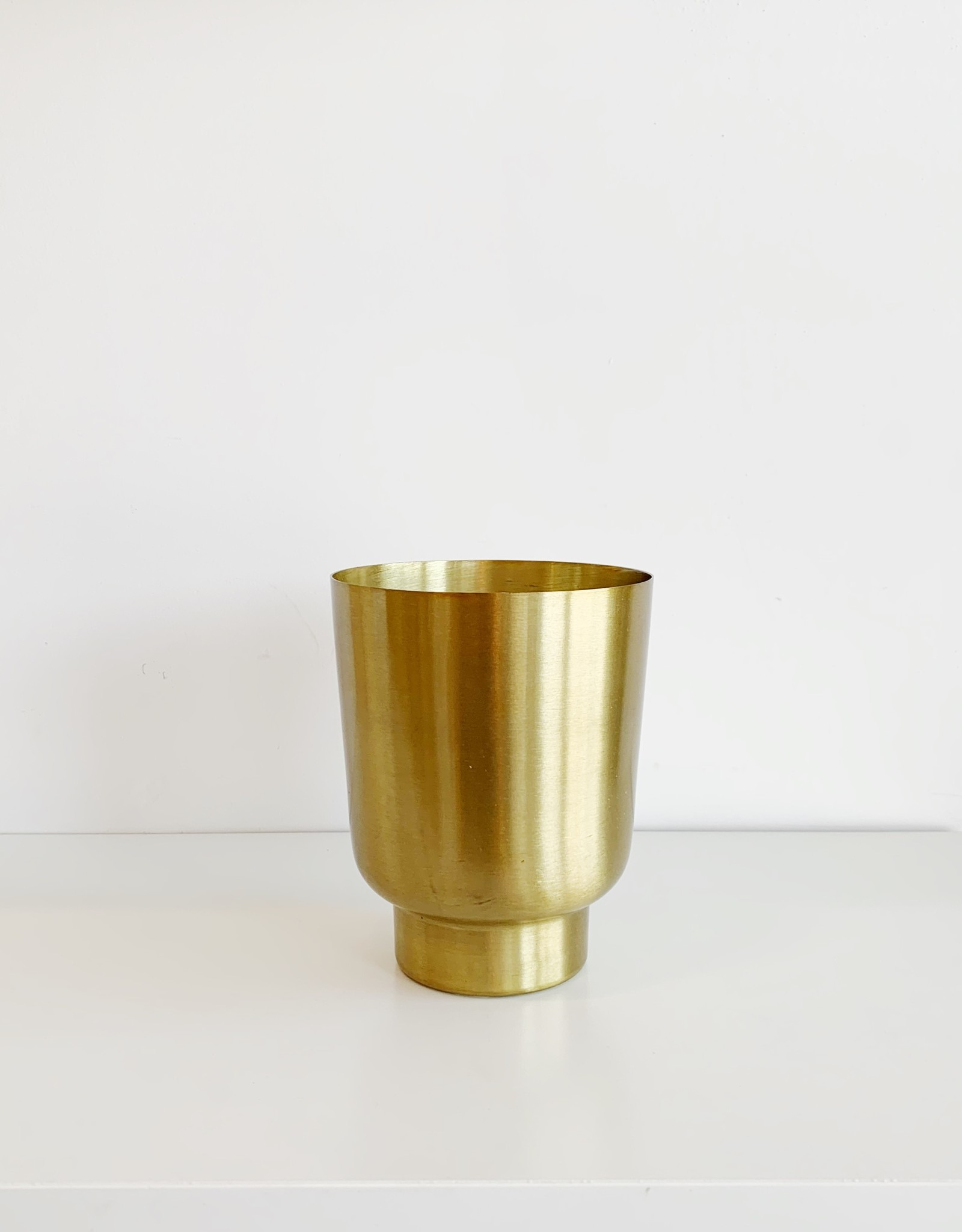 Copper Leaves Gilded Tumbler Candle