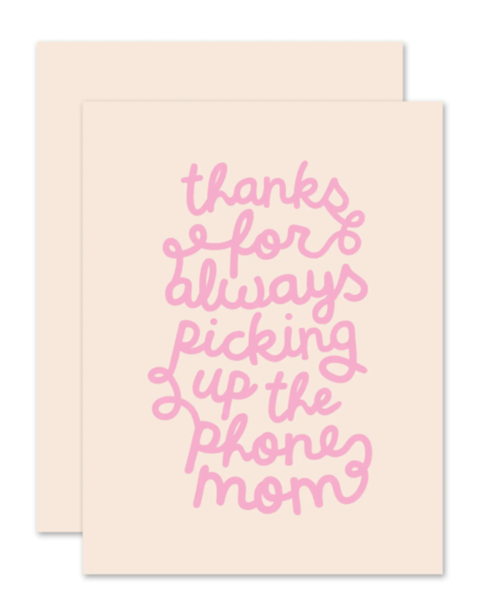 Phone Mom Card