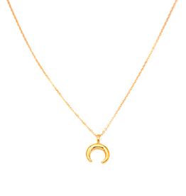 Mini Crescent Moon Necklace
