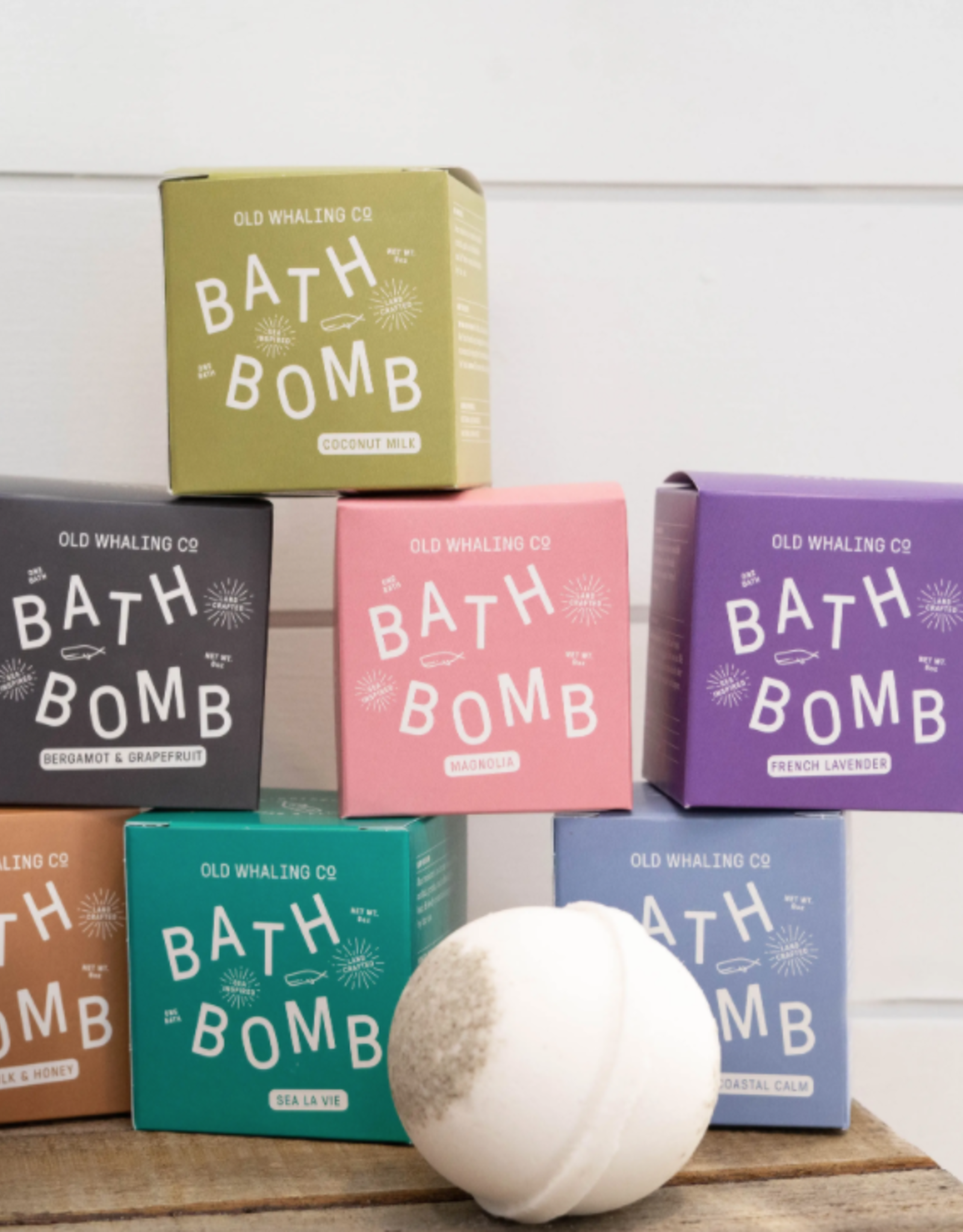 Bergamot + Grapefruit Bath Bomb