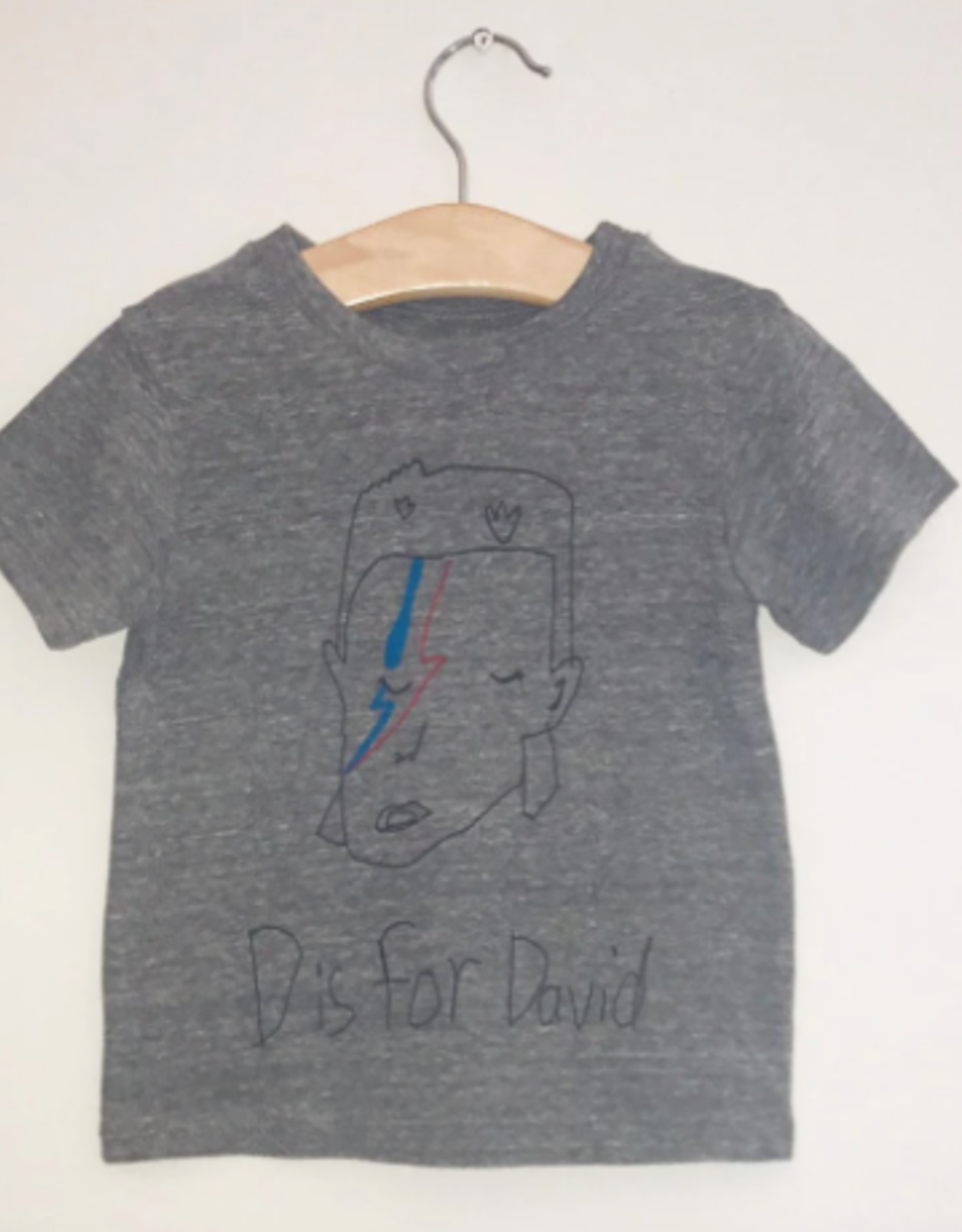 D is for David Toddler T-Shirt
