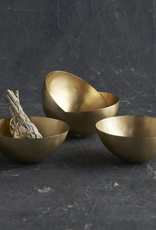 Petite Brass Bowls - Set of 4