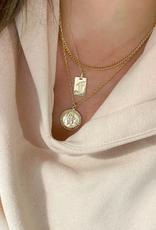 Saint Christopher Medallion Necklace