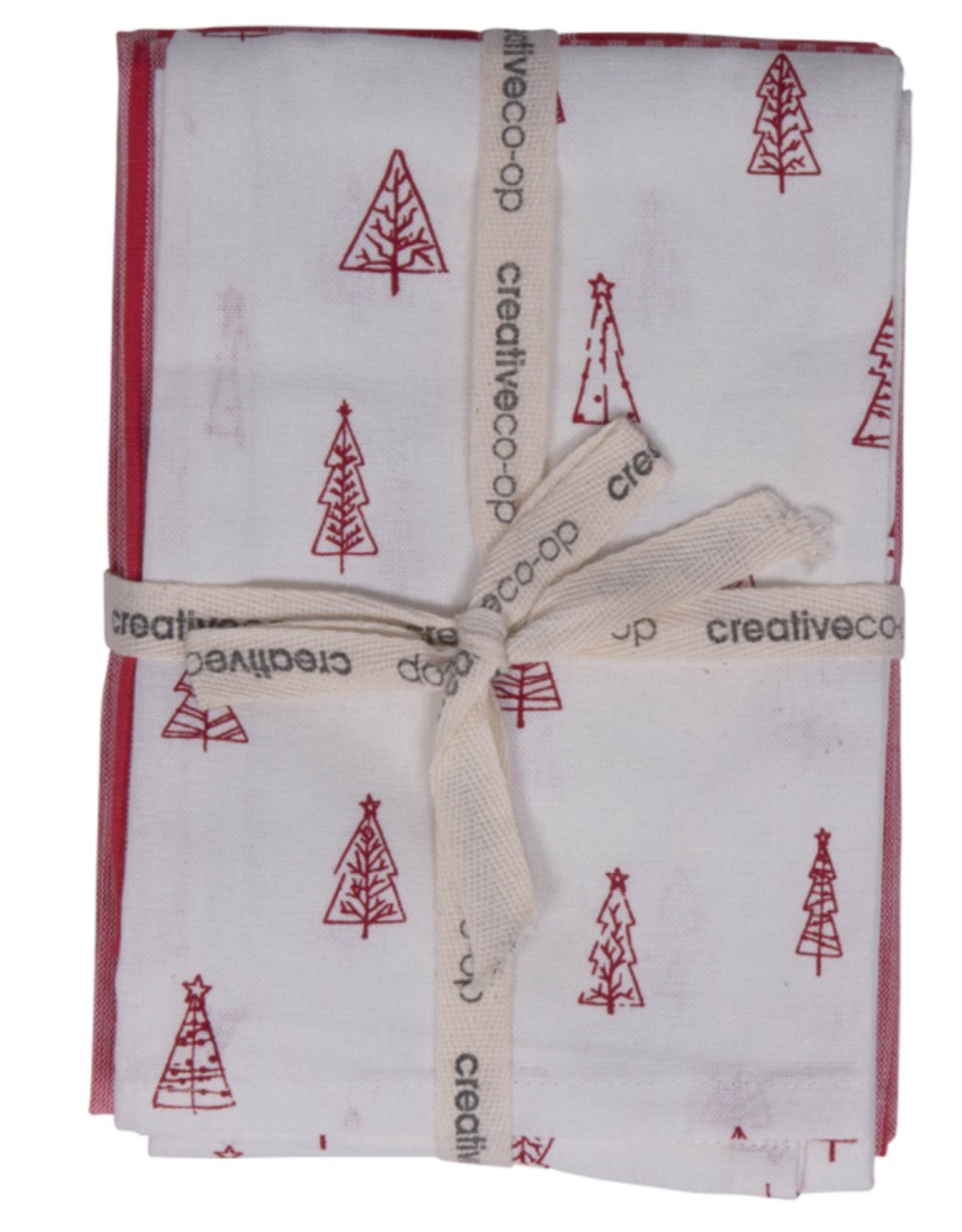 Holiday Cotton Tea Towels - Set of 3