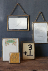 Brass & Glass Photo Frame - 4x6