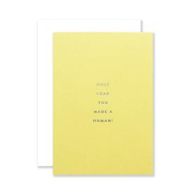 Human Petite Baby Card