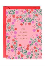 Daphne's Mantel Holiday Greeting Card