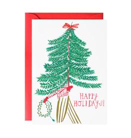 Charlie's Tree Holiday Greeting Card