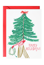 Charlie's Tree Holiday Greeting Card