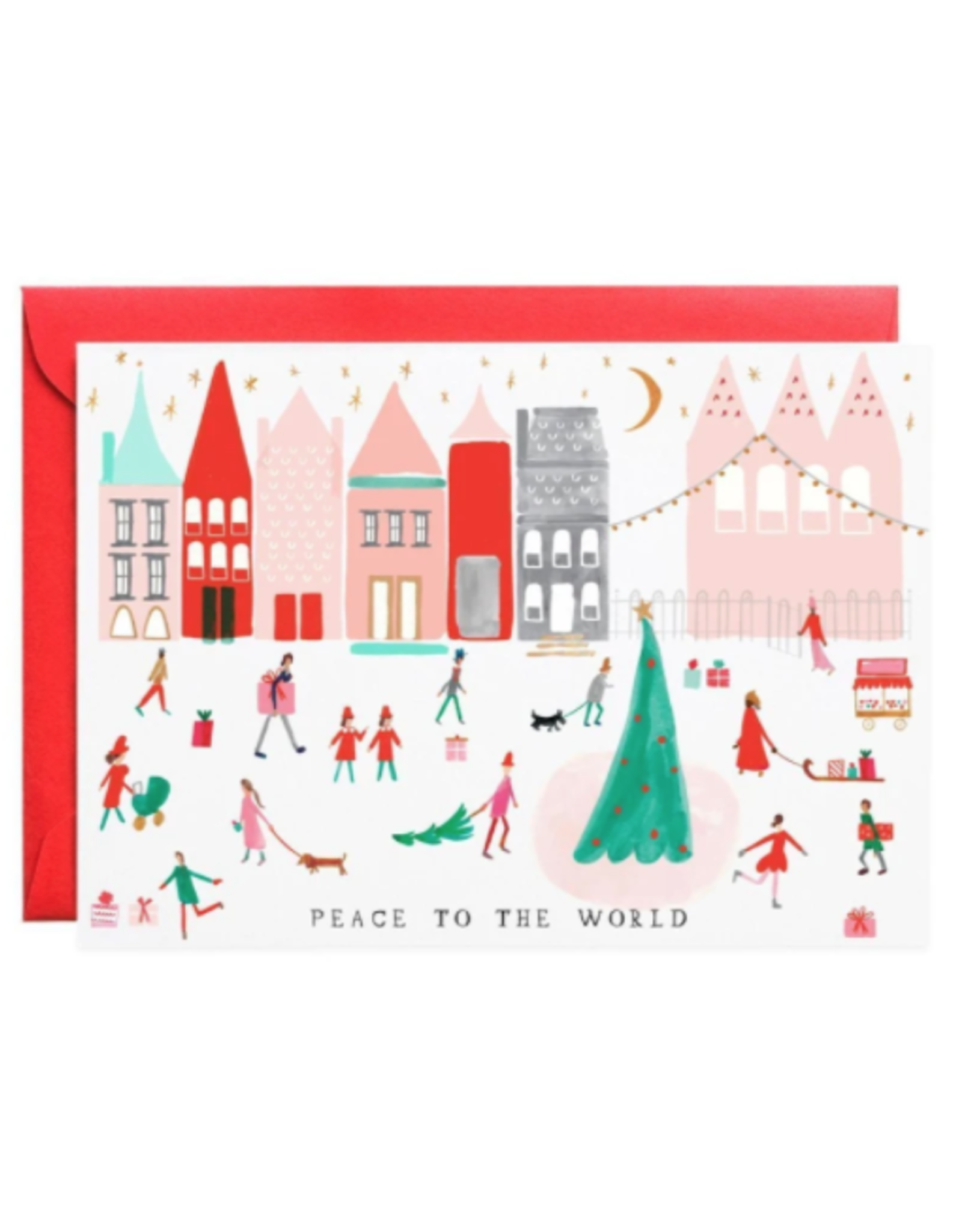 Peace to the World Holiday Greeting Card