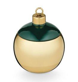 Juniper Moss Metal Ornament Candle
