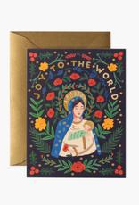 Madonna & Child Card