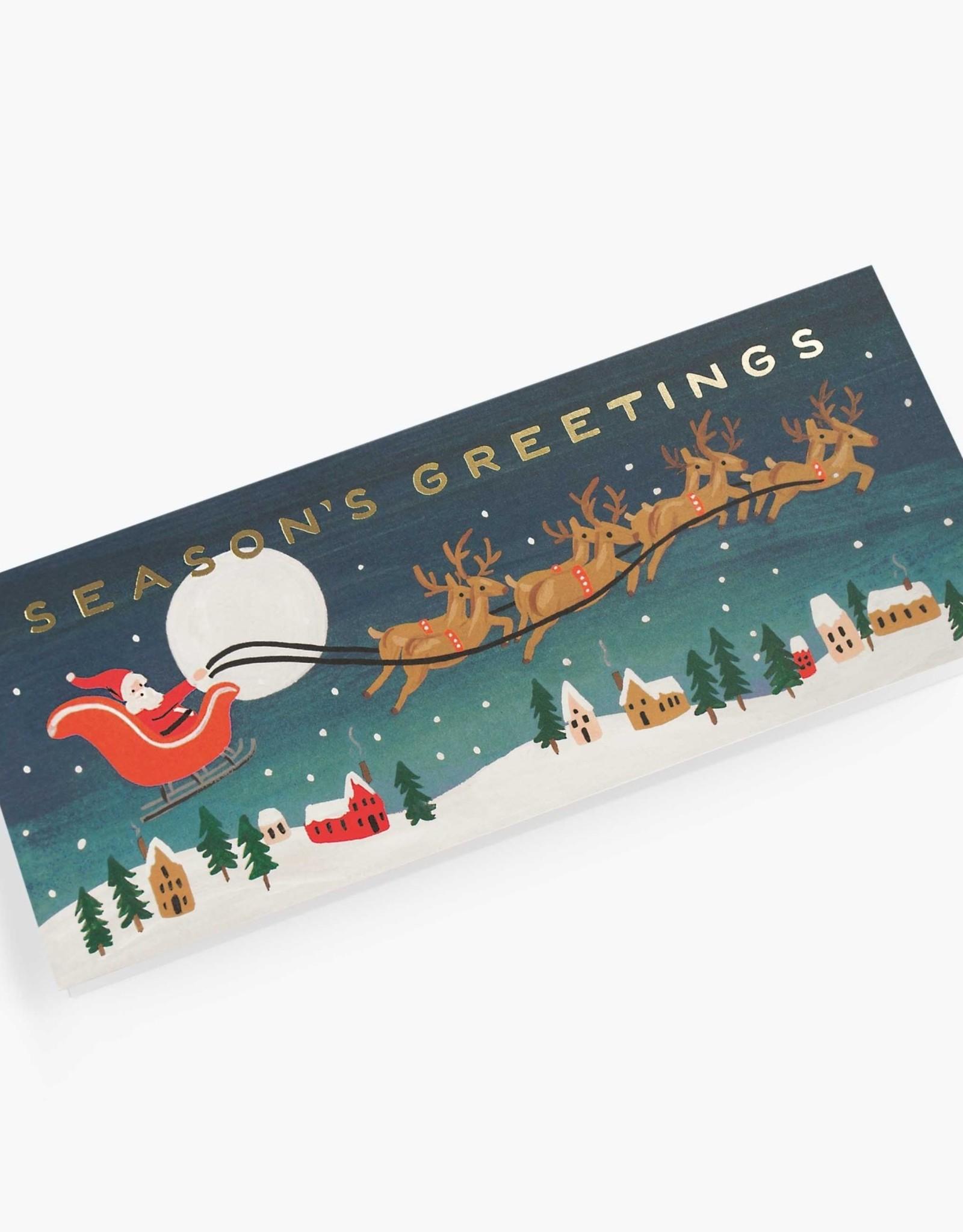 Santa's Sleigh Card