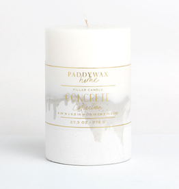 Ombre Concrete Pillar Candle - 27.3 oz.