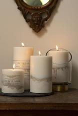 Ombre Concrete Pillar Candle - 27.3 oz.