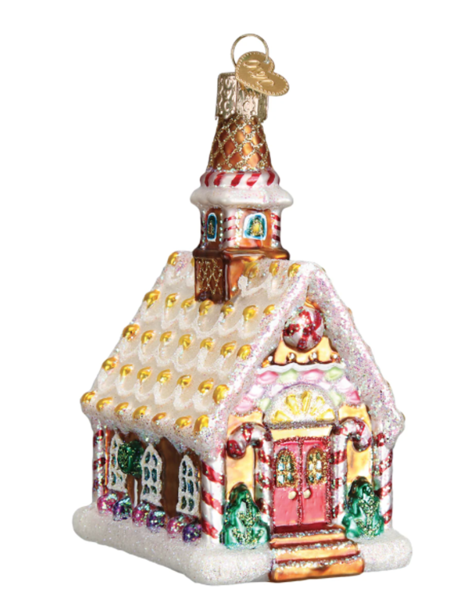 Gingerbread Church Ornament