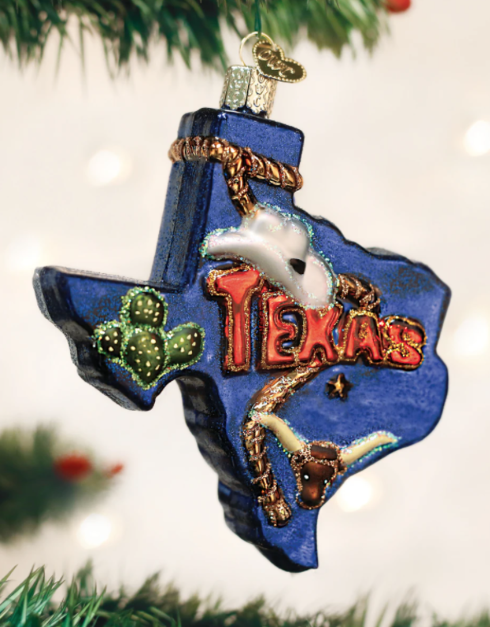 State Of Texas Ornament