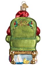 Santa Checking His List Ornament