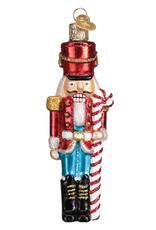 Peppermint Nutcracker Ornament