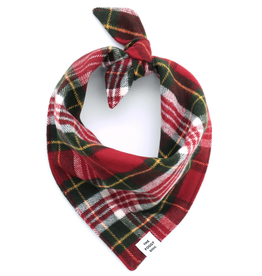 Highland Plaid Flannel Dog Bandana