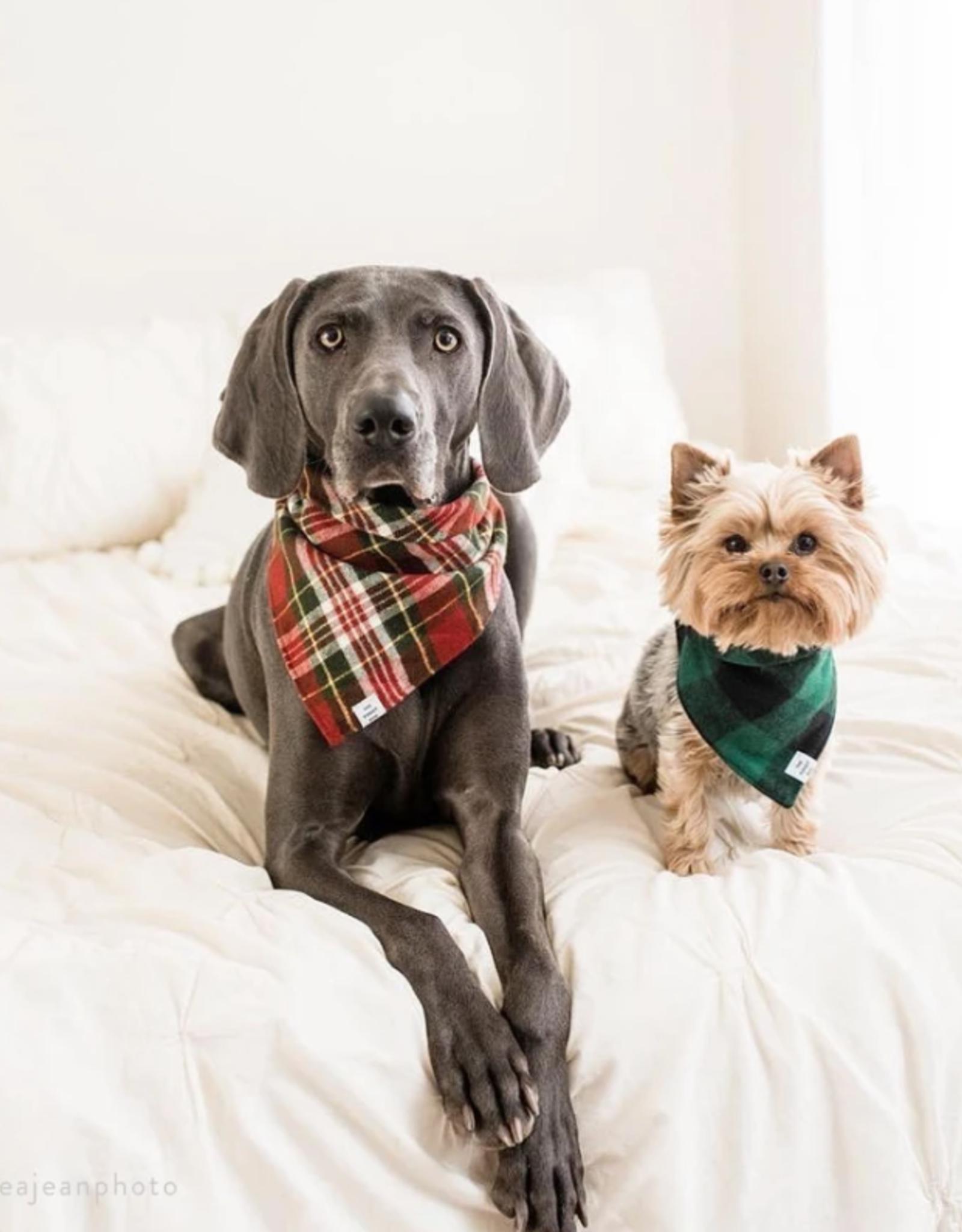 Highland Plaid Flannel Dog Bandana