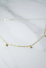 Orion's Belt Diamond Necklace