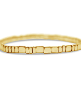 Self Love Morse Code Bracelet - Gold