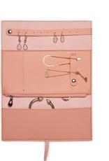 Luna Leather Jewelry Roll