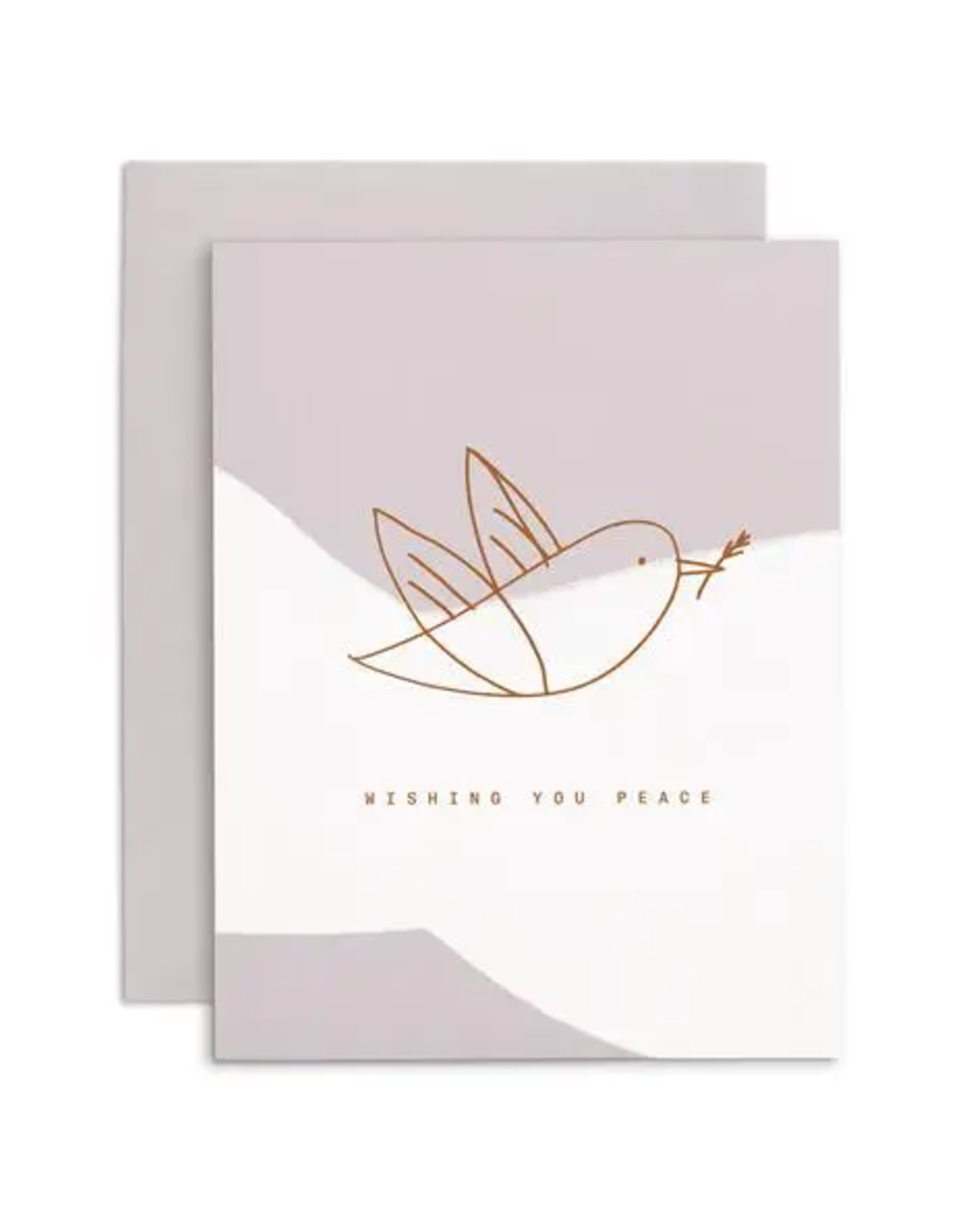 White Dove Holiday Card