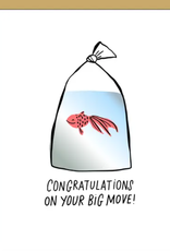Big Move Goldfish Card