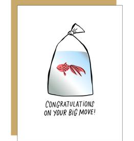 Big Move Goldfish Card