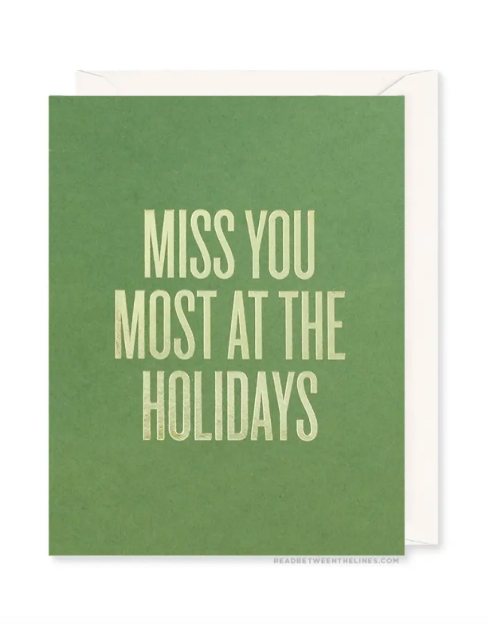 Miss You Most Card