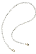 """Pearl Mask Necklace - 20"""""""