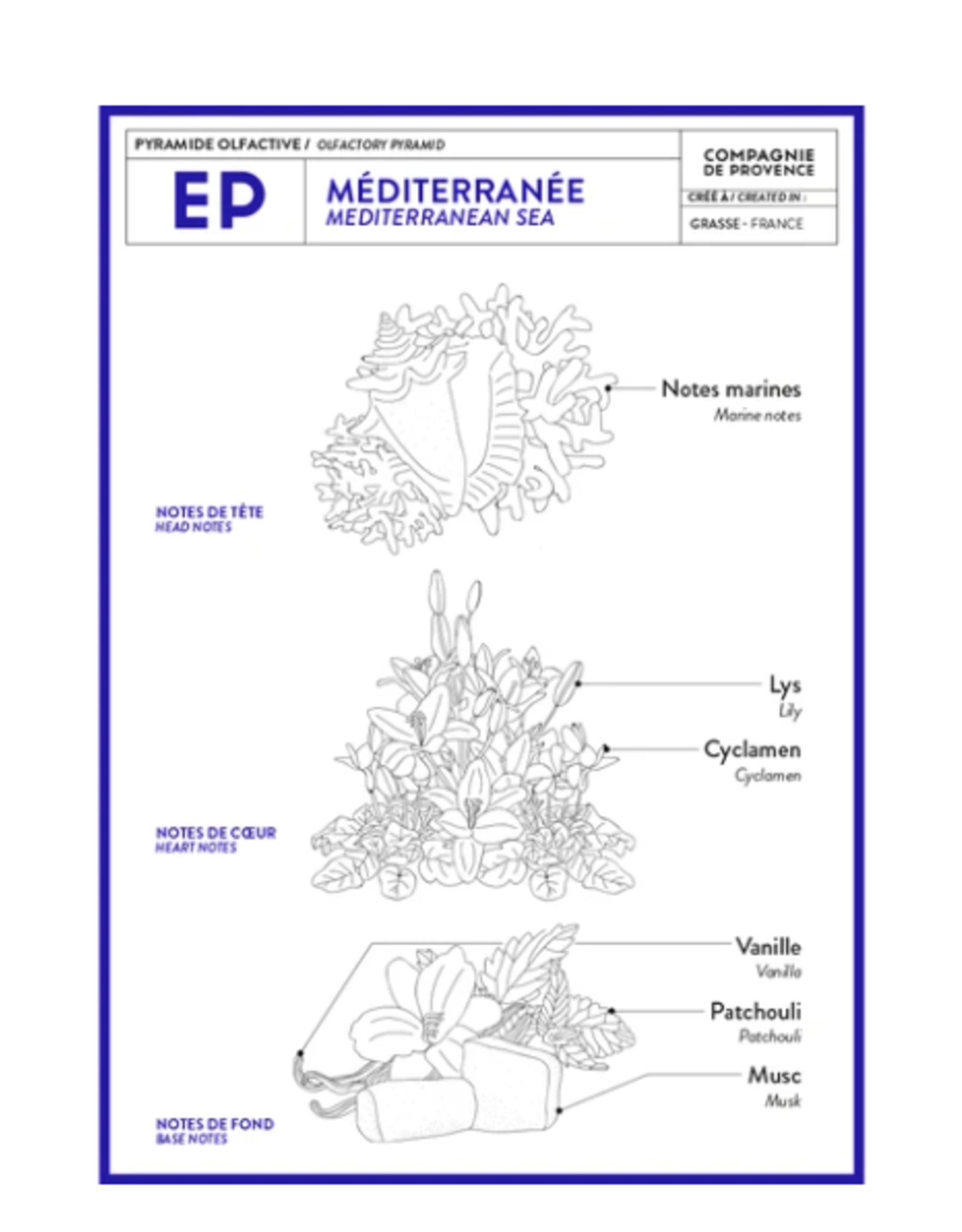 Refill Soap Mediterranean Sea 33.8 fl oz