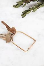 Port Brass Keychain