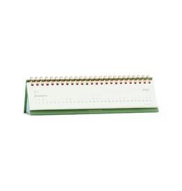 2021 Desk Calendar Green