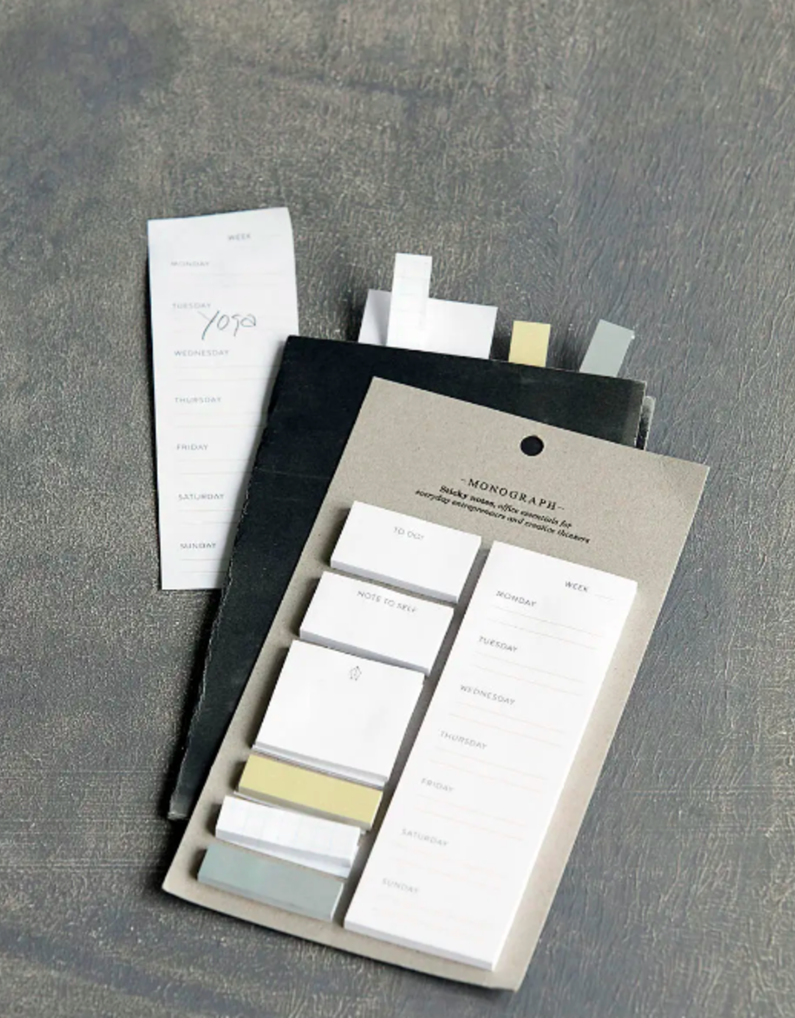 White Sticky Notes