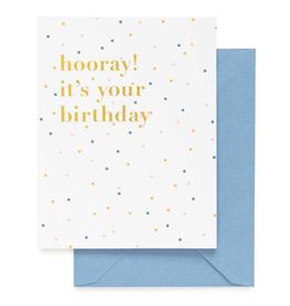 Hooray! It's your Birthday Card