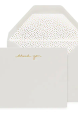 Dots Soft Thank You Note - Boxed Set