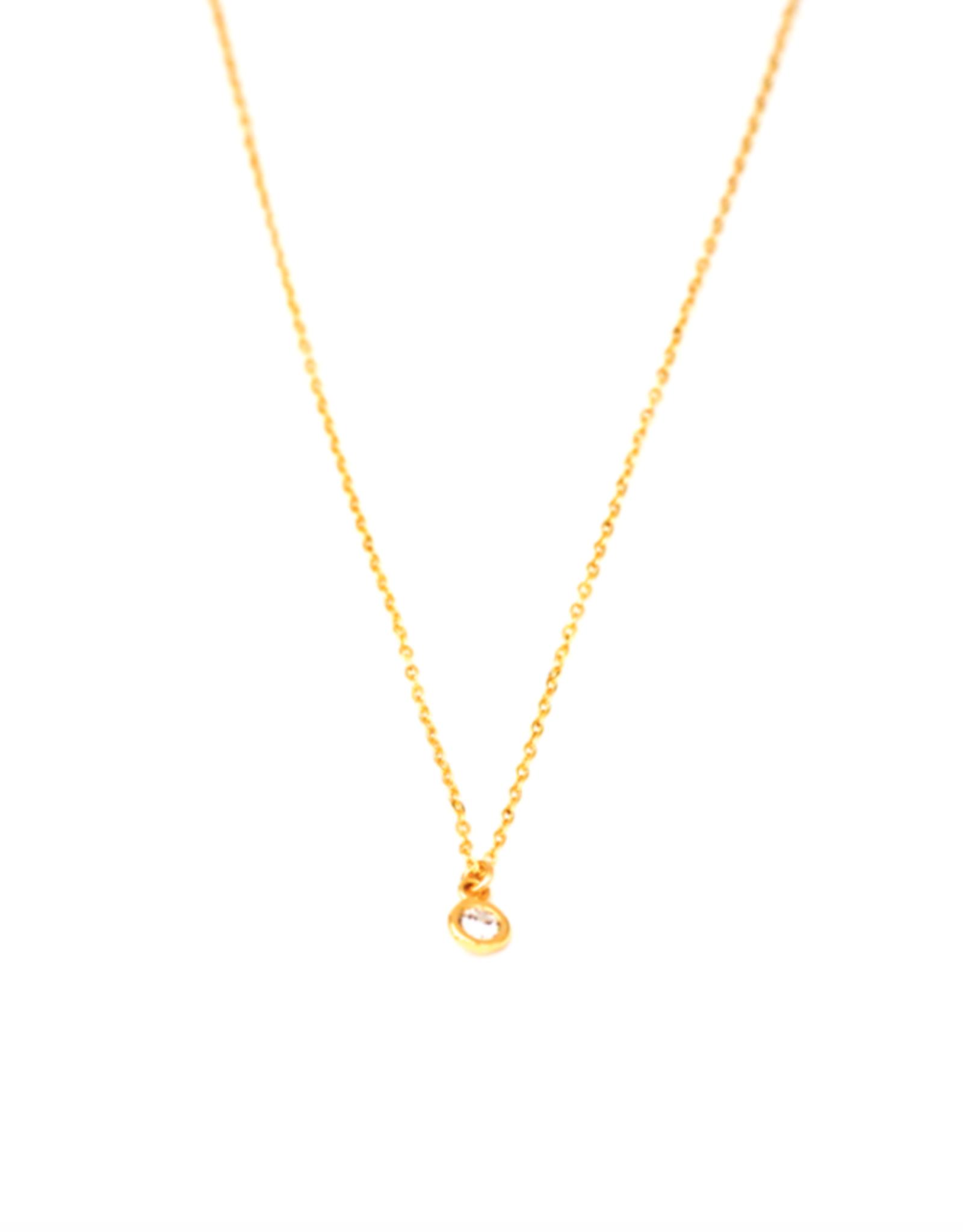 Petite CZ Necklace
