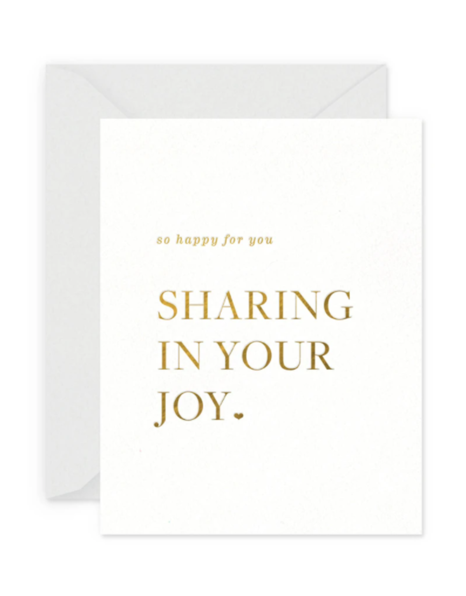 Sharing Your Joy Card