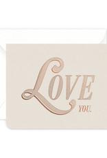 Vintage Love Card