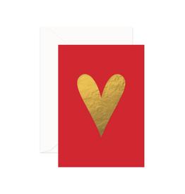 Foil Heart Card