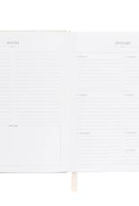 Flax Stripe Desk Planner 2021