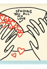 Sending You All My Love Card