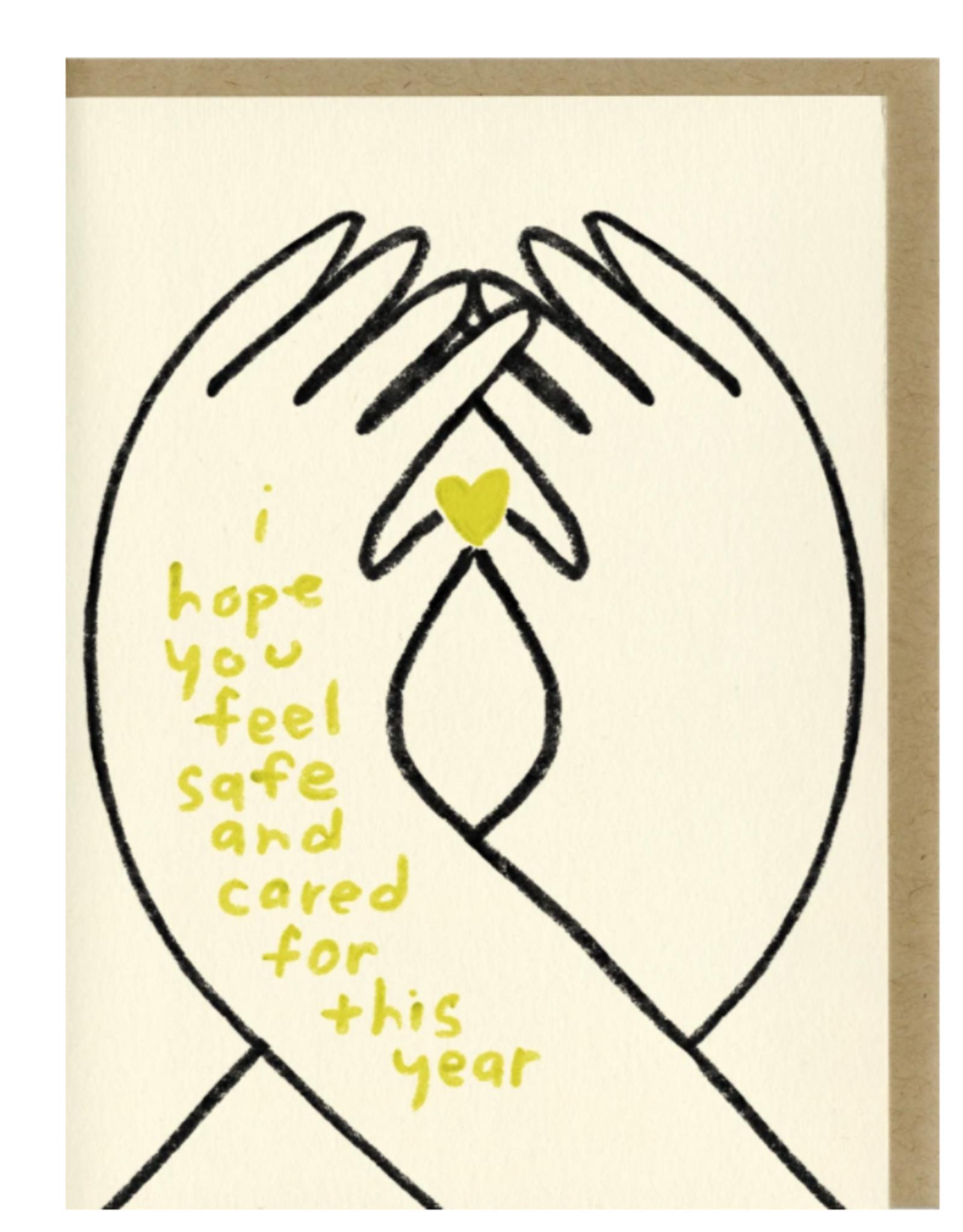 I Hope You Feel Cared For Card