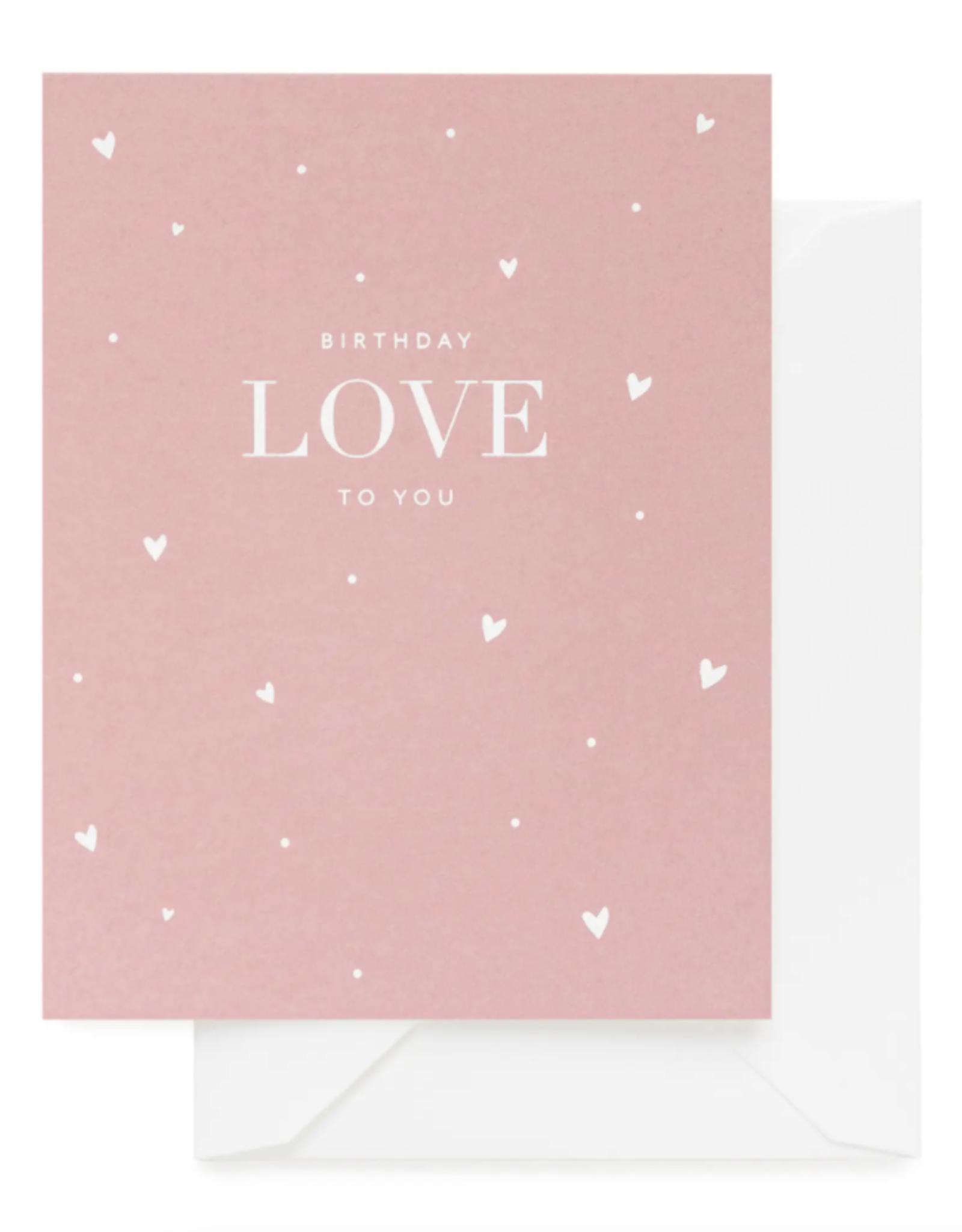 Birthday Love Card
