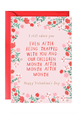 Stuck with You Valentine's Day Card