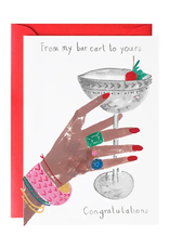 A Very Glamorous Cocktail Card