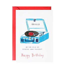 Sing Your Praises Birthday Card